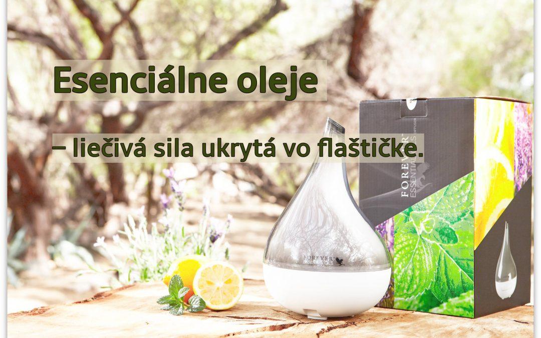 Esenciálne oleje – liečivá sila ukrytá vo flaštičke.